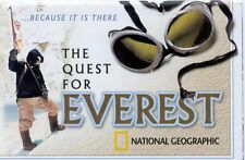 National Geographic Quest for Everest Map  & Ford Expedition Ad Special Edition