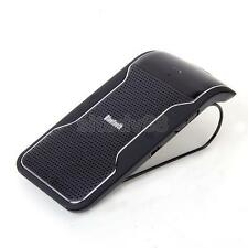 Portable Speakerphone Bluetooth Sun Visor Clip Hands Free Handsfree Car Kit New