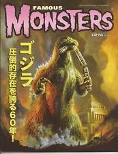Famous Monsters Of Filmland #274 Exclusive Cover Godzilla History in Movies