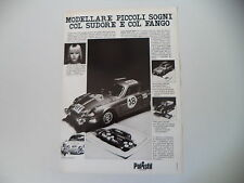 advertising Pubblicità 1974 ALPINE RENAULT RALLY POLISTIL
