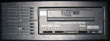 HP DAT160 external SAS tape drive, tape, SAS card and cable