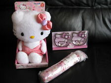NUOVO Hello Kitty bedwarmer + OMBRELLONE + Hand Warmer-Set regalo.