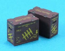 LEGEND PRODUCTION, LF1296, M1917 CAL.50 AMMO CRATE SET (LINKED/8EA),1:35