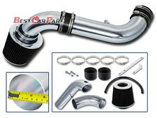 BCP BLACK 03-10 Dodge Dakota 3.7 V6/4.7 V8 Cold Air Intake Racing System +Filter