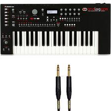 Elektron Analog Keys 4-Voice Synthesizer Keyboard + 6ft Mogami Gold TRS Cable