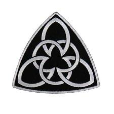 Brotherhood celtic Symbol EMBROIDERED 4 INCH IRON ON MC BIKER  PATCH