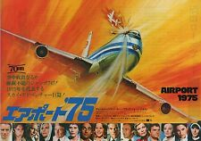 Airport 1975 - Original Japanese Chirashi Mini Poster - Charlton Heston
