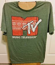 "T-Shirt 2XL ""MTV"" Music Television T-Shirt"
