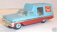 Vintage CORGI 1959 Chevrolet Impala Delivery Chipperfield Circus Die-Cast 1:43