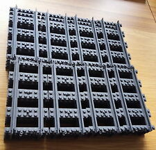 32 x New Genuine Lego Straight Train Tracks Rail 60051 60052