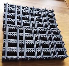 32 x NUOVO ORIGINALE LEGO Dritto BINARI RAIL 60051 60052