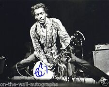CHUCK BERRY LEGEND HAND SIGNED AUTOGRAPHED LIVE CONCERT PHOTO! WITH PROOF+C.O.A.