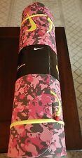 "Nike Pink Training Mat for Yoga or Pilates 72"" X 24"" Non Slip Thick New"