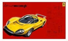 Fujimi 12363 RS-76 1/24 Scale Model Sport Car Kit Ferrari Dino 206 GT
