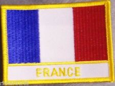 Embroidered International Patch National Flag of France NEW flag