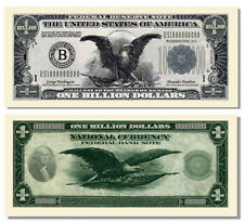 5 Factory Fresh Billion Dollar Federal Reserve Notes