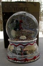 Towle 12 Days of Christmas Six Geese A-Laying Snowdome Snowglobe Snow Globe NIB