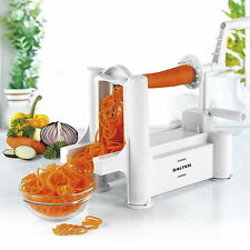 Spiralizer Vegetable Slicer Fruit Cutter Twister Salter Kitchen Tool Chopper