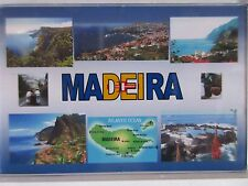 MADEIRA - JUMBO FRIDGE MAGNET -  Cabo Girão, Hiking, Mountains, Belmond Reid's P