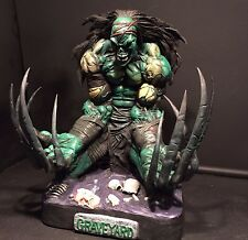 MOORE CREATIONS RESIN SCULPTURE Graveyard THUMPING GUTS not Sideshow or hot toys