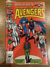 * The AVENGERS Special Epilogue to SECRET WARS II Issue #266 (MARVEL, 1986) *
