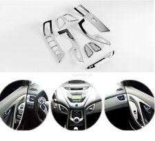 Chrome Interior Molding Trim Cover for 11-13 Hyundai Elantra w/ Tracking No.