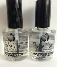 Seche Vite Fast Dry Top Coat 14ml & Seche Clear Base Coat 14ml Bottle Set!!!