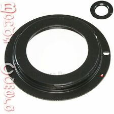 M42 Lens to Canon EOS Adapter Ring 4 Rebel XSi T1i T2i T5i with plate 5D II III