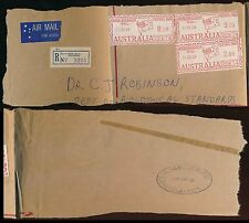 AUSTRALIA METER FRANKING ROYAL MELBOURNE HOSPITAL 1969 LARGE PART WRAPPER