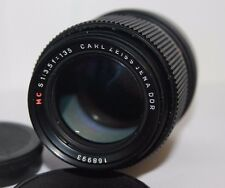 Carl Zeiss Jena MC 135mm f3.5 Telephoto Manual Lens M42 Screw Fit Lens