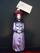 PATRICIA BREEN 1997 CHRISTMAS ORNAMENT 9700 AIC ESME FRENCH WOMAN RENOIR