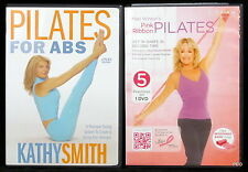 Pilates DVDs Mari Windsor Pink Ribbon Kathy Smith Abs Workout Exercise