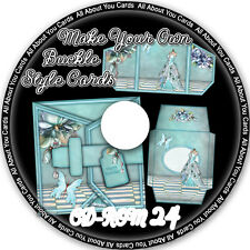 Make Your Own Buckle Style Cards CD-ROM 24