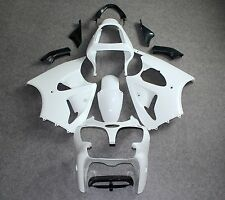 Unpainted White ABS Fairing Kit for KAWASAKI 636 ZX6R 2000-2002/ZZR600 2005-2008