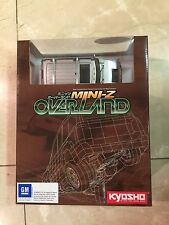 Kyosho Mini-Z OVERLAND HUMMER H2 Radio Controlled Car MINI RC Silver color