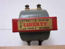Vintage Antique Old Liberty Bell Co Doorbell Transformer - Collectible - NICE