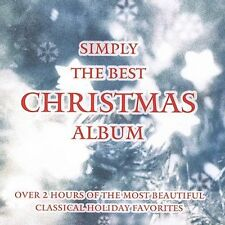 Simply the Best Christmas Album CD