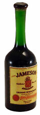 1:12 Real Glass Bottle Of Jameson Whiskey Dolls House Miniature Bar Accessory