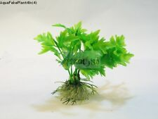 "(S04) 4"" Inch Realistic Artificial Plants for Aquarium/Fish Tank (SHIP FROM USA)"