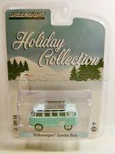 VOLKSWAGEN VW SAMBA BUS VAN POLAR BEAR HOLIDAY COLLECTION XMAS 2016 GREENLIGHT