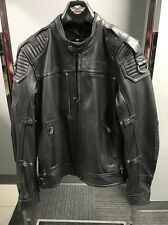 Harley Davidson Men's ROADSHOW Switchback Reflective Leather Jacket  97081-16VM