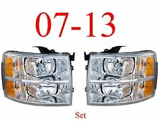 07 13 Chevy Head Light Set, Assembly, Silverado Truck, New In Box, Both Sides !!