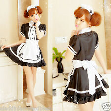 Cosplay Maid Costume Anime Suit Clothes Sexy Lingerie Role-play Women Uniform