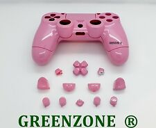 Pink Gloss Custom Replacement Full Shell Mod Kit for Playstation 4 Controller