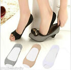 Women Cotton Elastic Invisible Liner Peds Low Cut Peep Toes Open Toe Socks