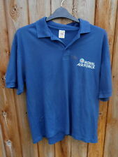 RAF MOTIVATIONAL TEAM POLO SHIRT SIZE LARGE