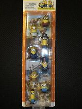 Minions 8-Pack Mini Figure GIFT SET Exclusive Collectible NEW Despicable ME