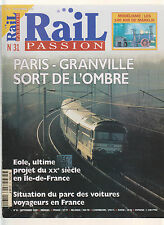 RAIL PASSION N° 31 140 A DE MARKLIN / PARIS -  GRANVILLE / VAPEUR EN CHINE