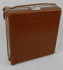 POLAROID 900 Electric Eye Camera CASE ONLY w/ unused strap Brown / Tan