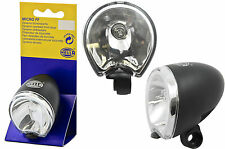 HELLA MICRO FF FRONT HALOGEN DYNAMO BIKE LIGHT,NEAT BRIGHT SMALL LAMP 40% OFF